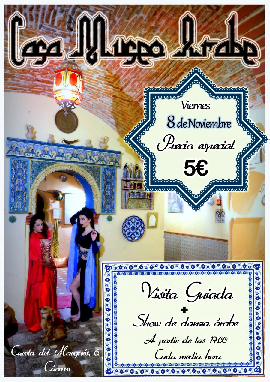 Visita guiada y espectáculo en Museo Casa Árabe.