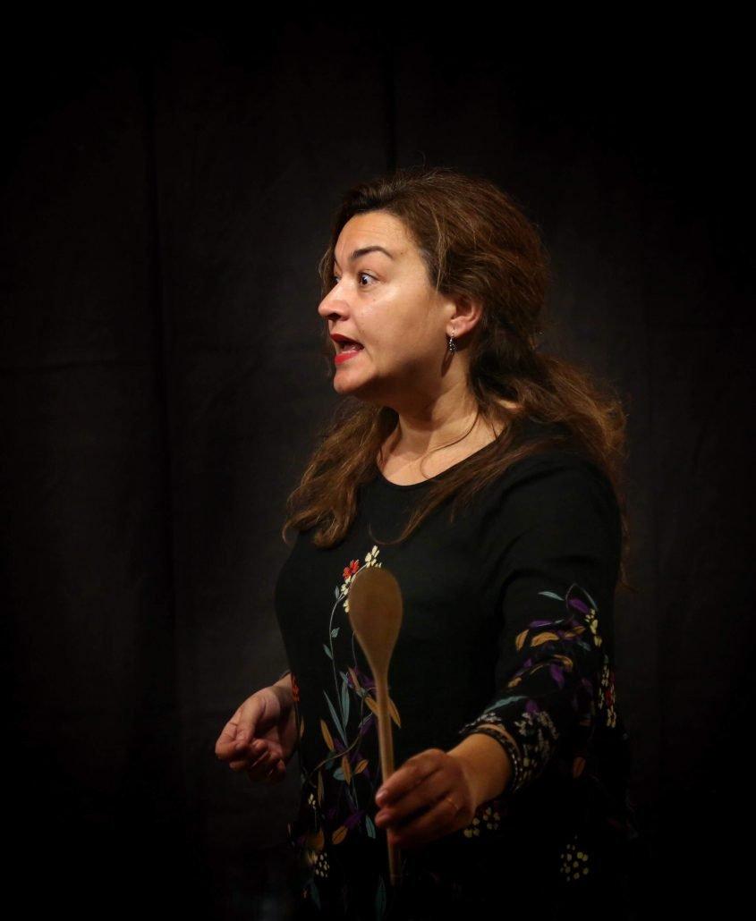 Isabel Benito en Solana de los Barros