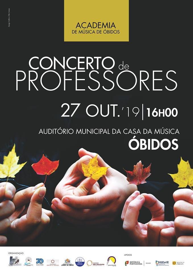 Concerto de Professores | Academia de Música de Óbidos