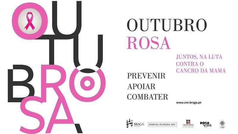 Em Braga, o mês de Outubro é Rosa