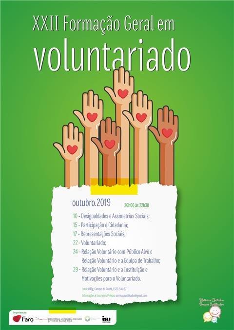 XXII Formação Geral em Voluntariado