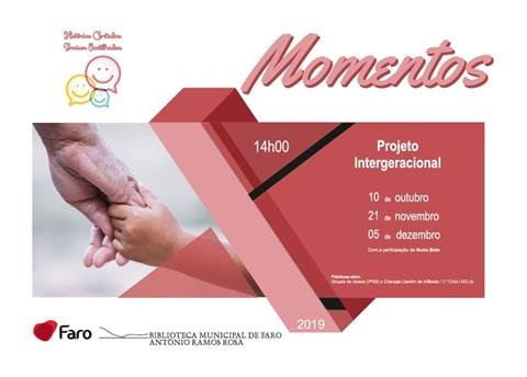 Momentos - atividade intergeracional