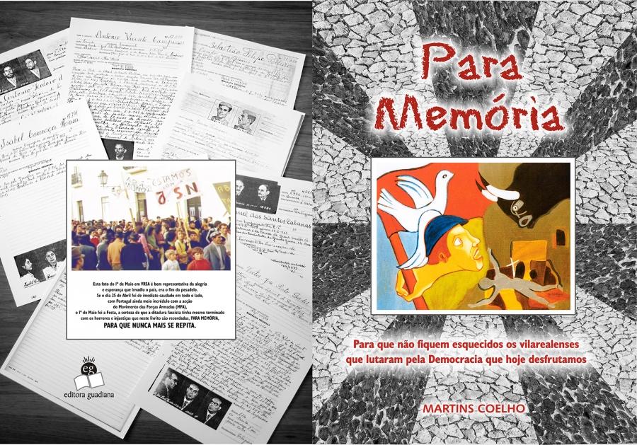 Apresentação do livro de Martins Coelho - «Para memória»
