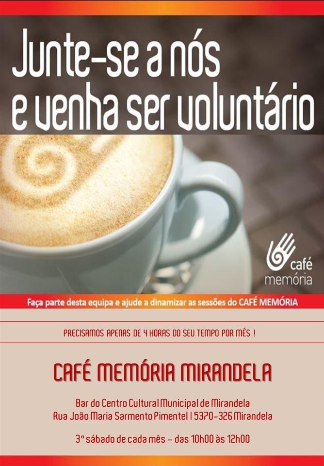 Voluntariado - Café Memória