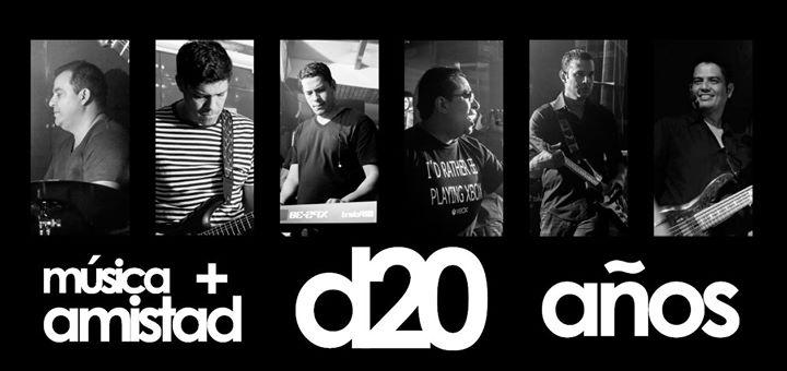D20 Decibeles: 20 años de Música y Amistad