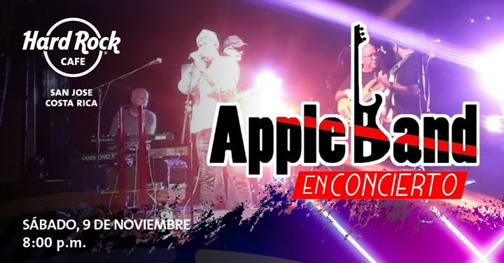 Apple Band en concierto