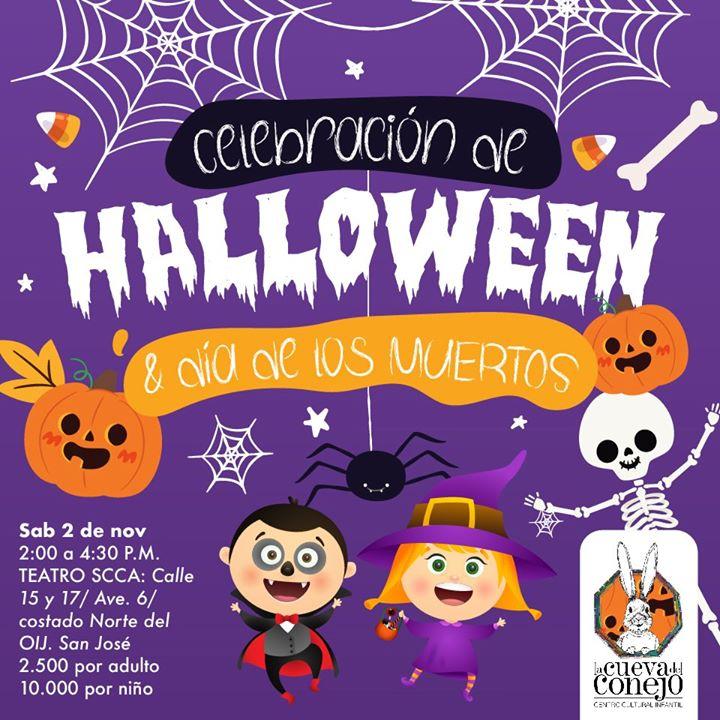 Celebrá Halloween con La Cueva del Conejo