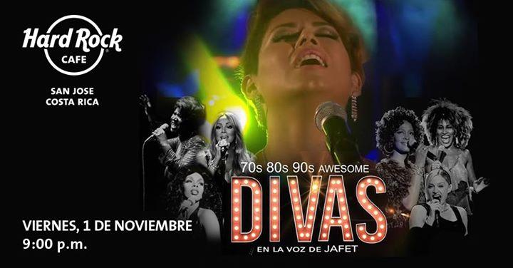 70s, 80s, 90s awesome Divas en la voz de Jafet