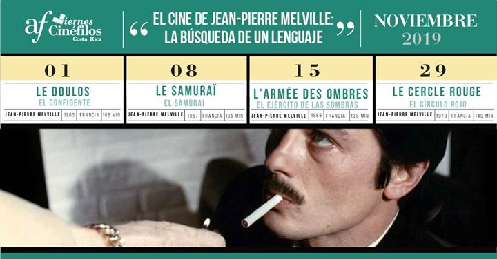 Viernes cinéfilos: El cine de Jean-Pierre Melville