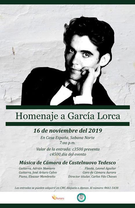 Homenaje a García Lorca