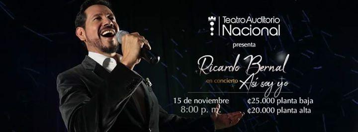 Ricardo Bernal en Concierto, Asi soy yo