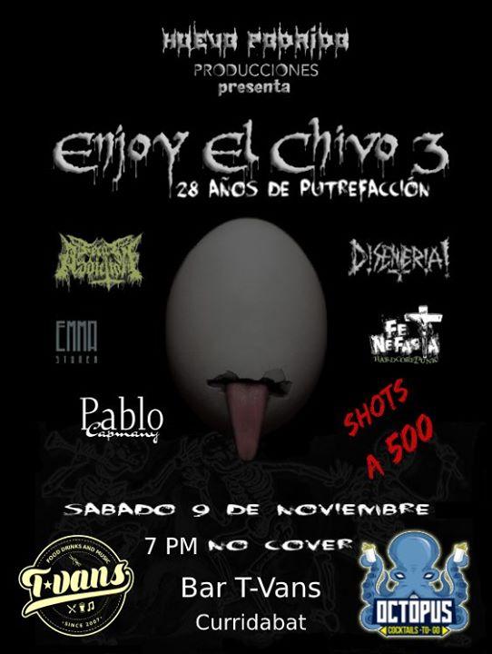 ¡Enjoy El Chivo en T-Vans!