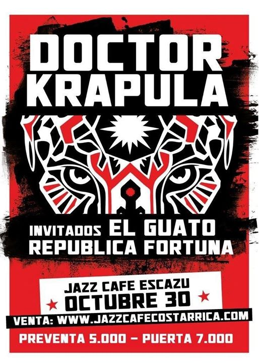 Doctor Krapula en Costa Rica