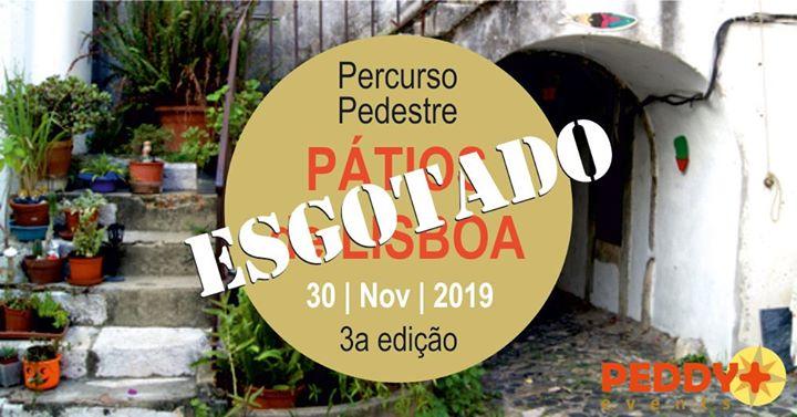 Percurso Pedestre 'Pátios de Lisboa' (3ª Edição)