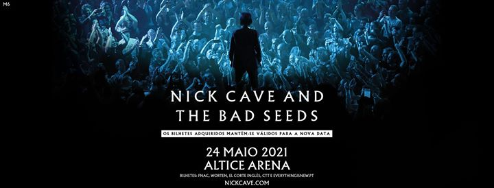 Nova Data: Nick Cave and The Bad Seeds in Lisbon