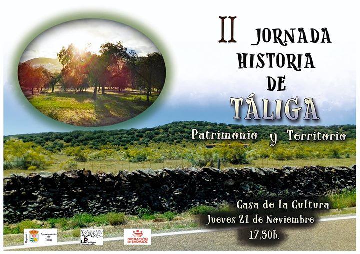 II Jornadas de Historia de Táliga 'Patrimonio y Territorio'