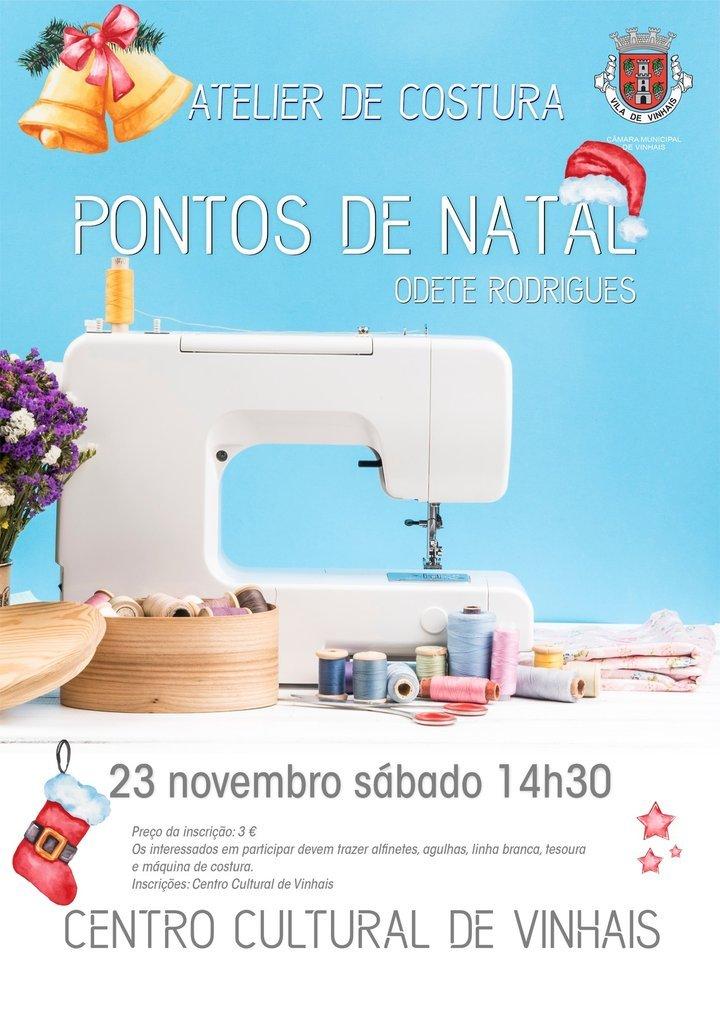Atelier de Costura 'Pontos de Natal'