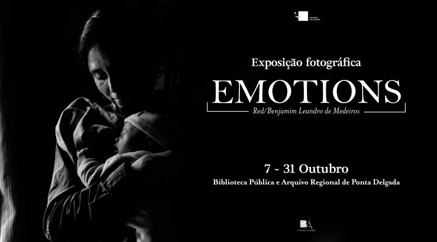 Exposição Fotográfica 'Emotions' de Red/Benjamim Leandro de Medeiros