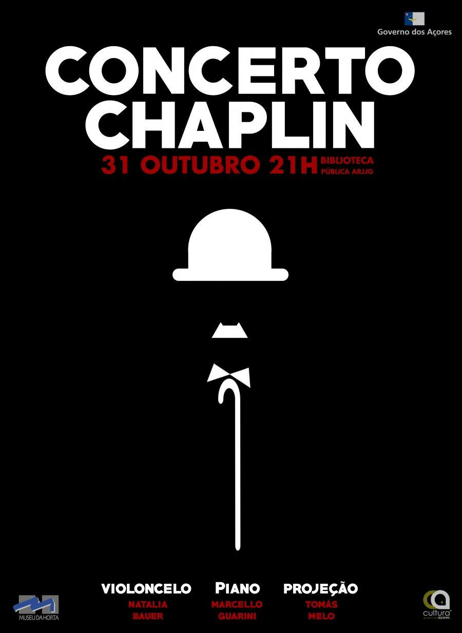 Concerto As Músicas de Filmes de Charlie Chaplin