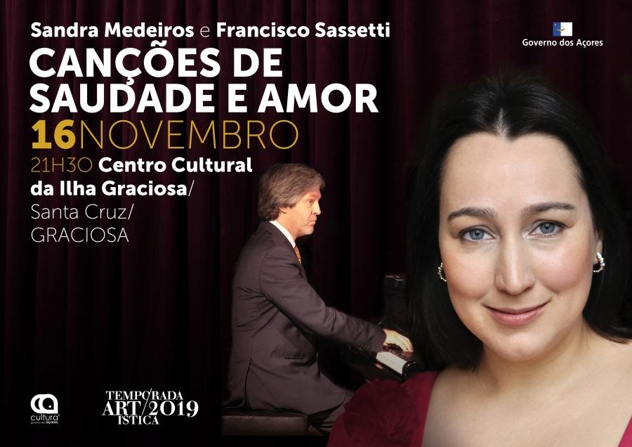 Canções de Saudade e Amor | Temporada Artística 2019