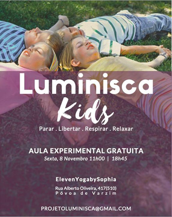Luminisca Kids - Aula Aberta (tarde)