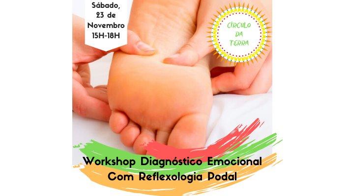 Workshop Diagnóstico Emocional com Reflexologia Podal