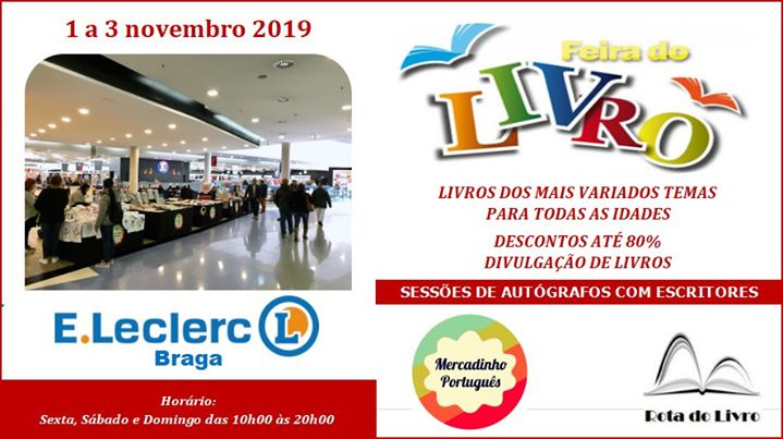 A 'Rota do Livro' no Mercadinho Português em Braga
