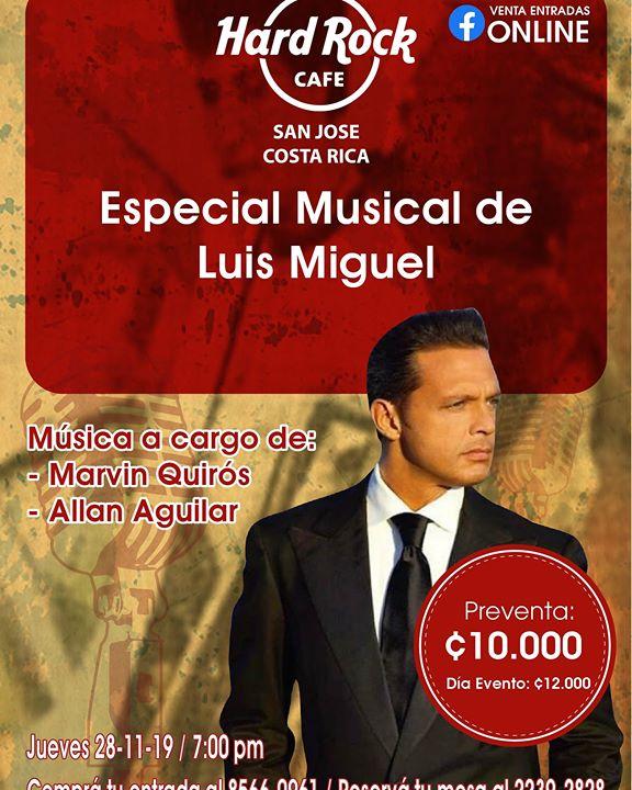 Especial Musical de Luis Miguel