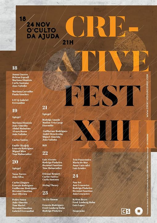 Creative Fest XIII 2019