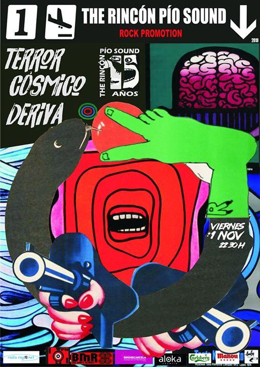15º Aniversario The Rincón Pío Sound. Terror Cósmico + Deriva