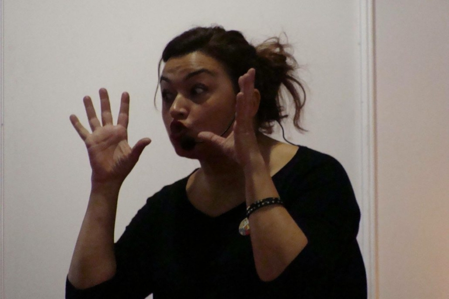 Isabel Benito en Aceuchal