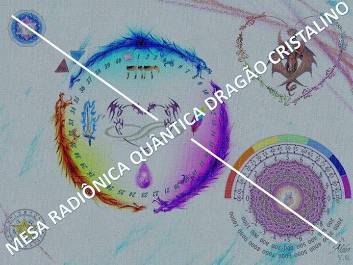 Curso Mesa Radiônica Quântica Dragão Cristalino - Setubal