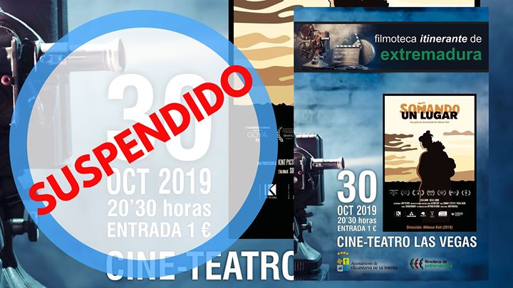 Filmoteca de Extremadura 'Soñando un lugar' Dir. Alfonso Kint.