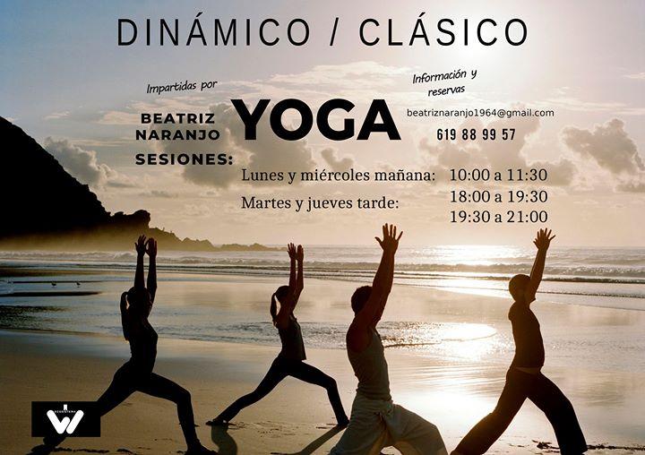 Clases de Yoga con Beatriz Naranjo