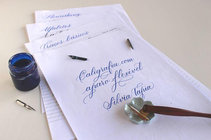 Curso Intensivo de Iniciação à Caligrafia com Silvia Tapia