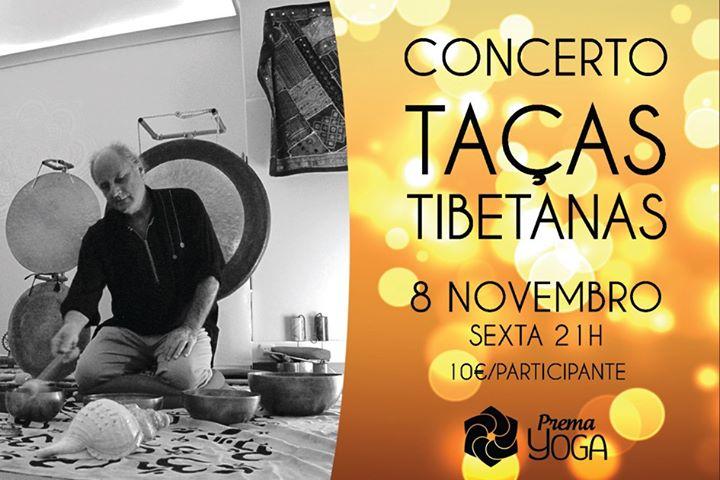Concerto de Taças Tibetanas