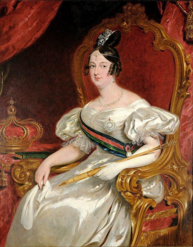 D. Maria II, Princesa do Brasil, Rainha de Portugal