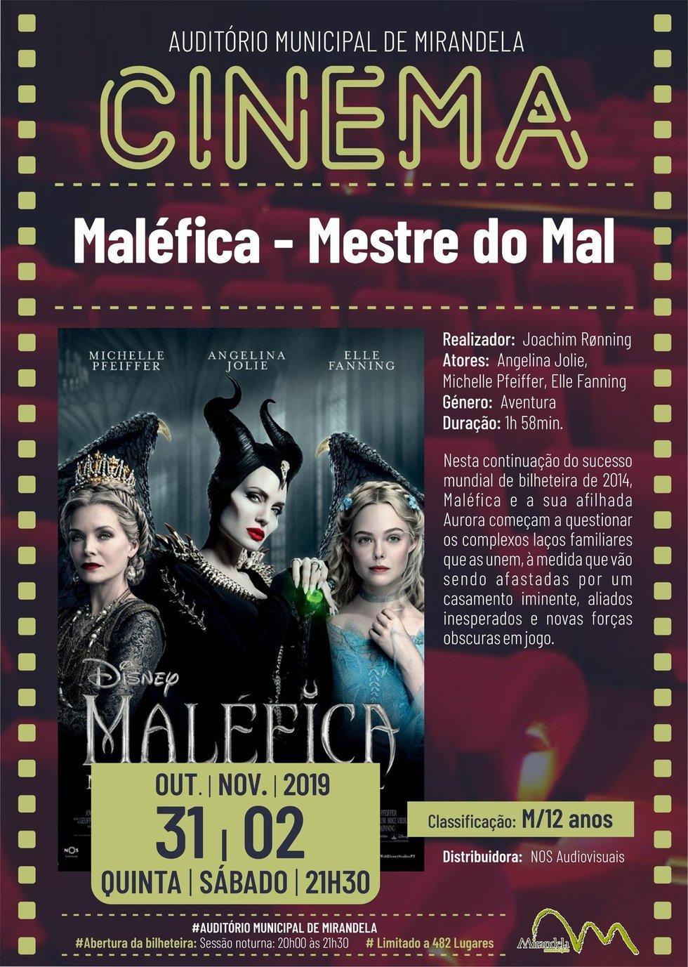 Cinema: Maléfica - Mestre do Mal