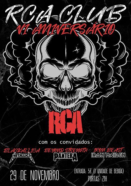 RCA, Blackallica, Beyond Strength, Iron Beast - RCA CLUB