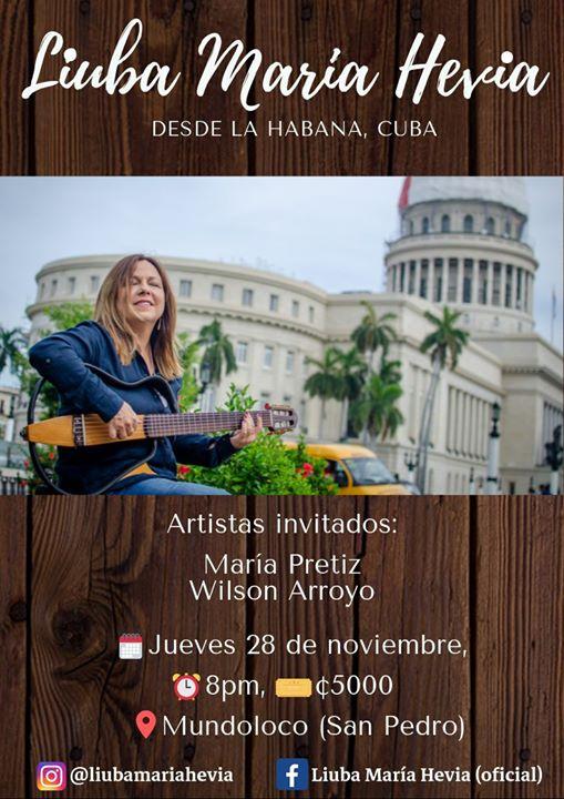 Liuba María Hevia en Costa Rica