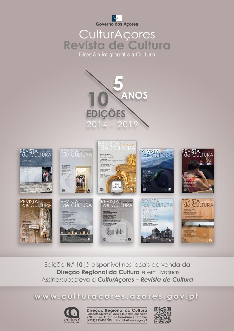 CulturAçores – Revista de Cultura, N.º 10