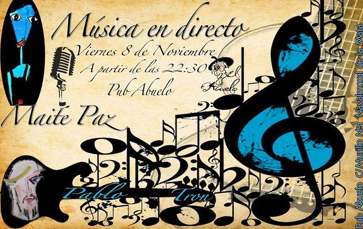 Maite Paz & Pablo Tron en concierto