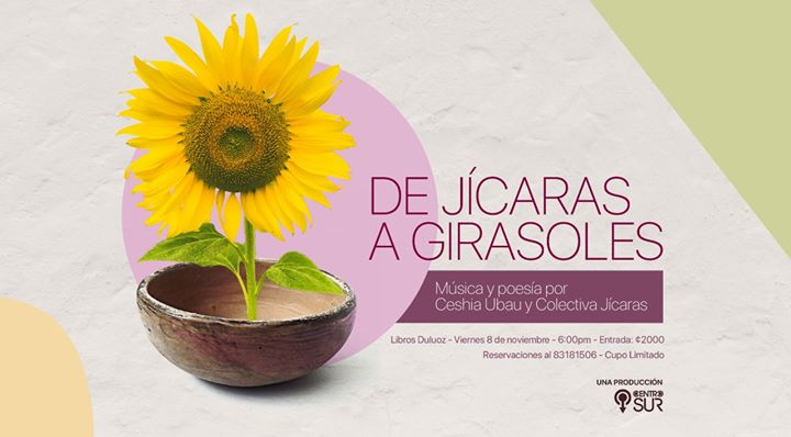 Agotado/De Jícaras a Girasoles: Ceshia Ubau y Colectiva Jícaras