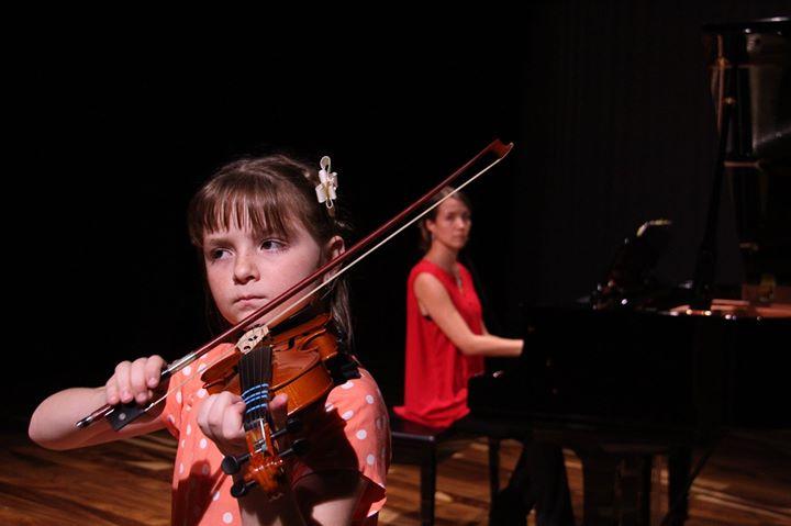 Recital de alumnos de violín y de piano
