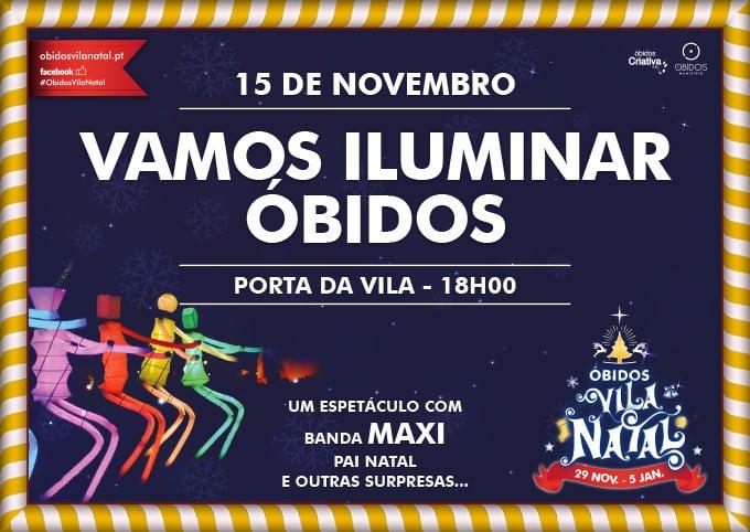 Vamos iluminar Óbidos