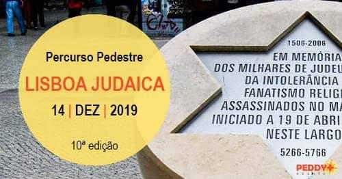 Percurso Pedestre 'Lisboa Judaica' (10ª Edição)