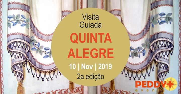 Visita Guiada à Quinta Alegre (2ª Edição)