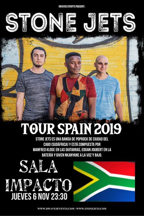 STONE JETS pop rock desde Sudáfrica