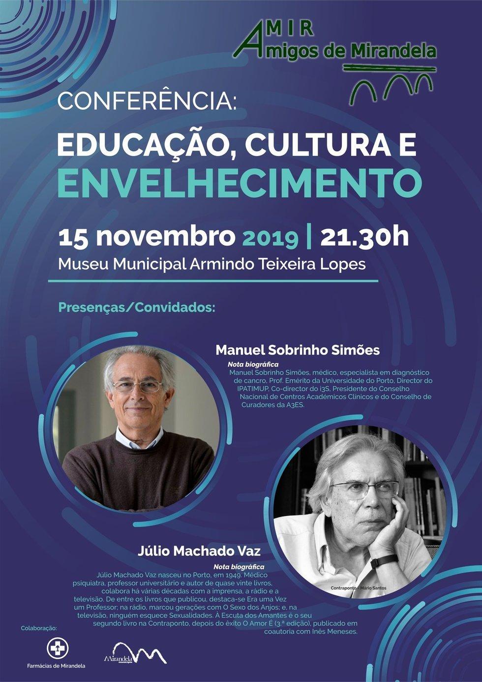 Conferência Educação, Cultura e Envelhecimento