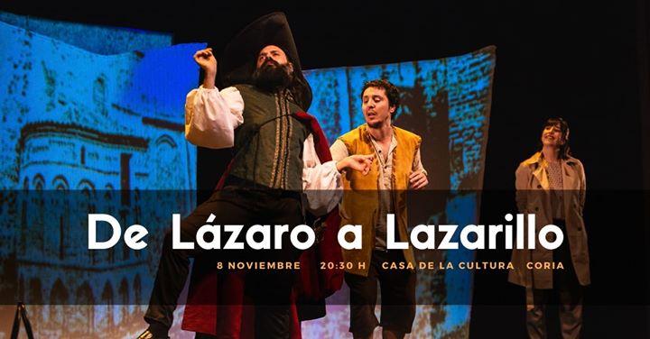De Lázaro a Lazarillo   CORIA
